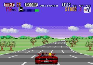 Out Run Megadrive 23
