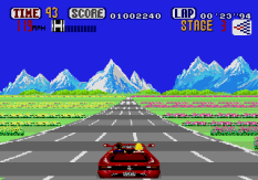 Out Run Megadrive 33