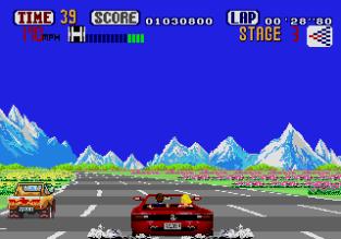 Out Run Megadrive 34
