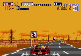 Out Run Megadrive 53