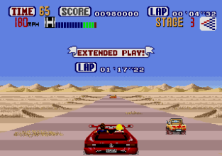 Out Run Megadrive 56