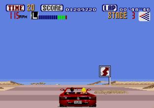 Out Run Megadrive 64