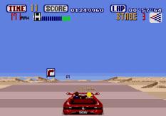Out Run Megadrive 65