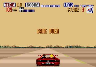 Out Run Megadrive 67
