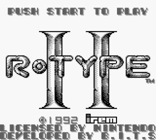 R-Type 2 Game Boy 01