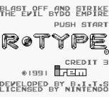 R-Type Game Boy 02