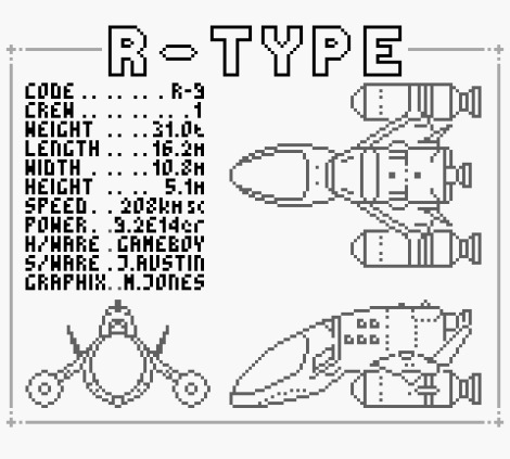 R-Type Game Boy 67
