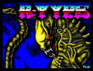 R-Type ZX Spectrum 001