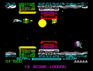 R-Type ZX Spectrum 009