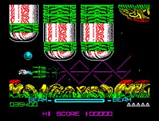 R-Type ZX Spectrum 020