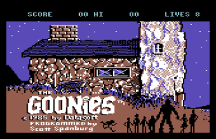 The Goonies C64 01