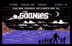 The Goonies C64 40