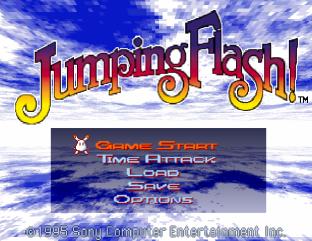 Jumping Flash PS1 001
