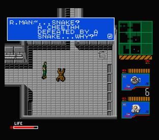 Metal Gear 2 - Solid Snake MSX 108