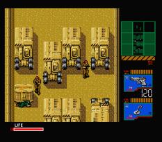 Metal Gear 2 - Solid Snake MSX 120