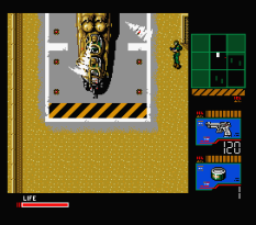 Metal Gear 2 - Solid Snake MSX 121