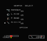 Metal Gear MSX 058