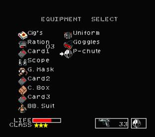 Metal Gear MSX 144