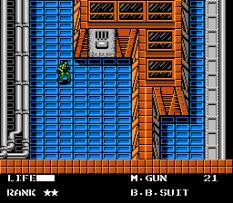 Metal Gear NES 110