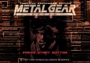 Metal Gear Solid PS1 001