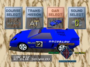 Ridge Racer PS1 56
