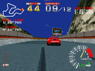 Ridge Racer PS1 86