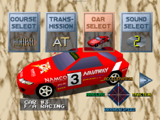 Ridge Racer PS1 88
