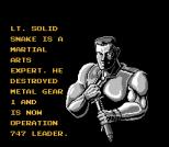 Snake's Revenge NES 003