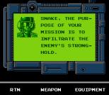 Snake's Revenge NES 007