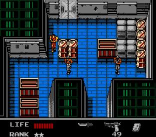 Snake's Revenge NES 042