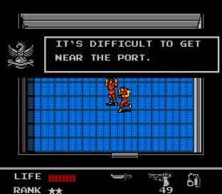 Snake's Revenge NES 045