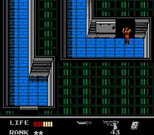 Snake's Revenge NES 056