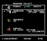 Snake's Revenge NES 058
