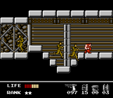 Snake's Revenge NES 066