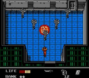 Snake's Revenge NES 075