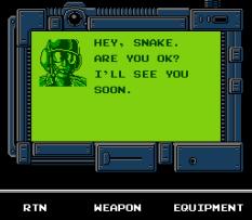 Snake's Revenge NES 109