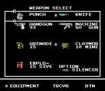 Snake's Revenge NES 112