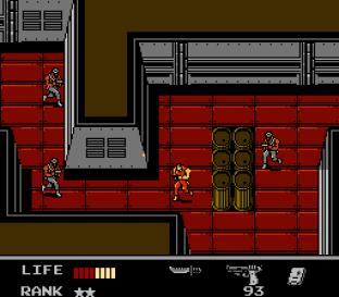 Snake's Revenge NES 119