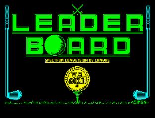 Leaderboard ZX Spectrum 01