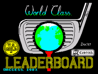 World Class Leaderboard ZX Spectrum 01
